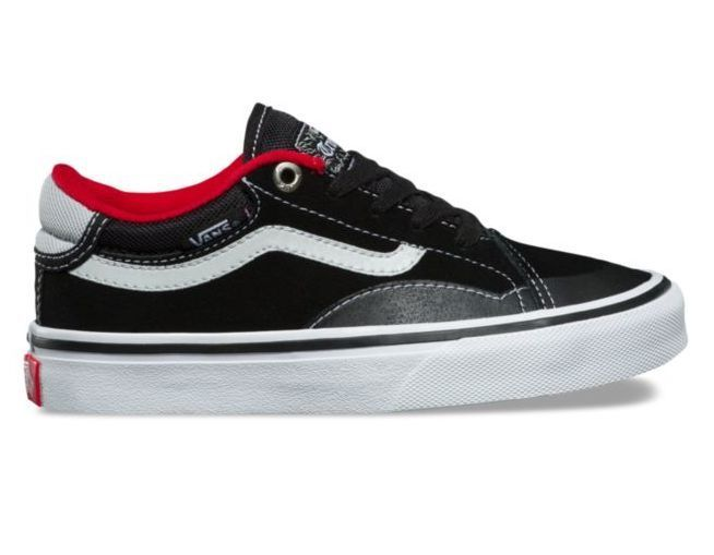 8facab075b Vans Youth TNT Advanced Prototype (Black White Red) - kineticskateboarding