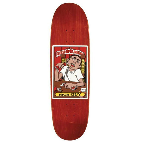 Blind High Guy Fucked Up Blind Kids Neon Screen Printed Deck (9)