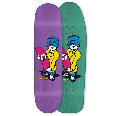 Traffic Oyola Devastation Slappy Deck 9.0""