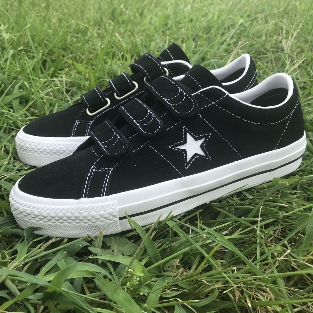Converse Cons One Star Pro 3V (Black/Pomegranate Red)