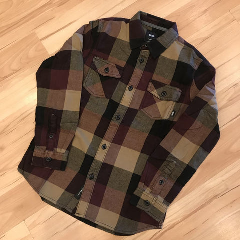 VANS BOYS BOX FLANNEL (PORT ROYALE)