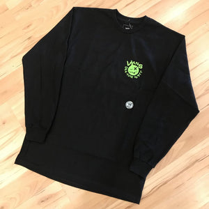 VANS CRUSHING LONGSLEEVE (BLACK)