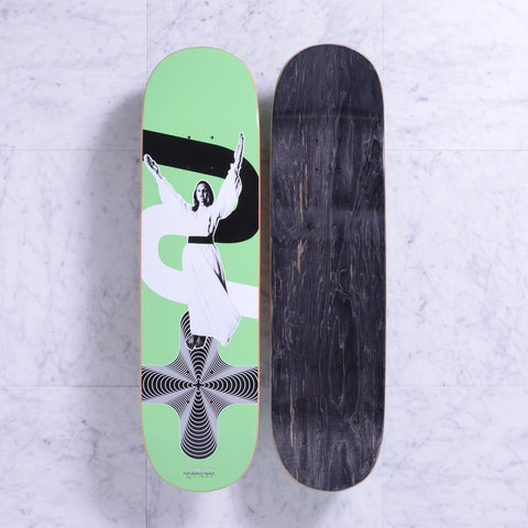 Quasi Johnson Peace Deck Deck Green (8.5)