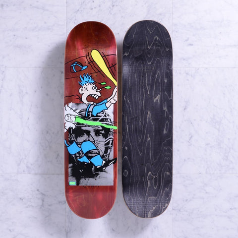 Quasi Crockett Grand Slam Deck Maroon (8.375)