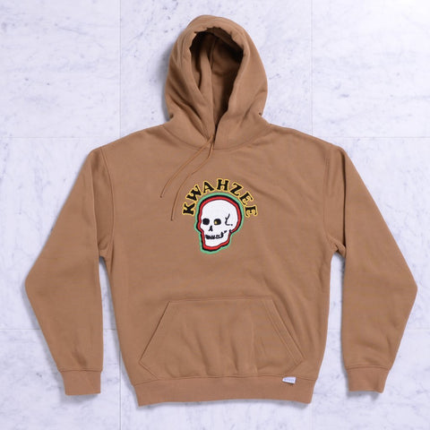 Quasi Dome Hooded Sweatshirt (Tan)