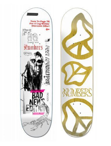 Numbers Koston Edition 5 Deck (8.25)
