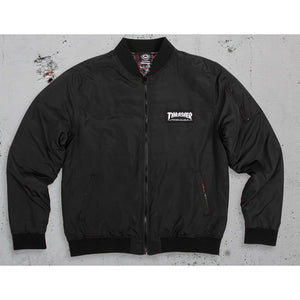 Thrasher Bomber Jacket Black