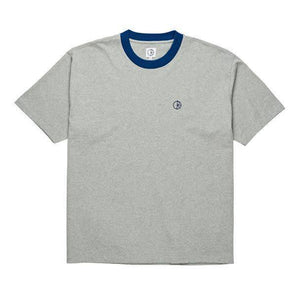 Polar Ringer Tee (Heather Grey/Navy)