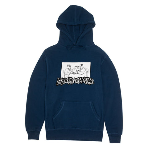 Fucking Awesome Sliced Hood (Navy)