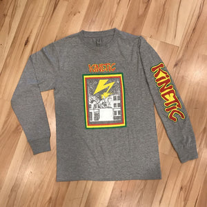 Kinetic Banned DE Long Sleeve (Heather Grey)