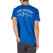Vans X Anti-Hero On The Wire Long Sleeve T-Shirt (Royal Blue)
