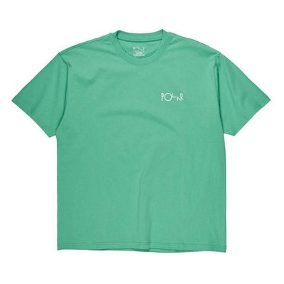 Polar Fill Logo Tee (Peppermint/Dark Green)
