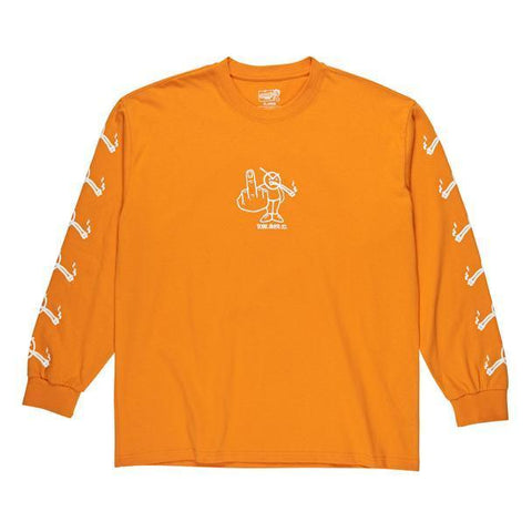 Polar Angry Stoner L/S (Bright Orange)