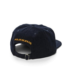 Polar Cord 5-Panel Cap (Navy)