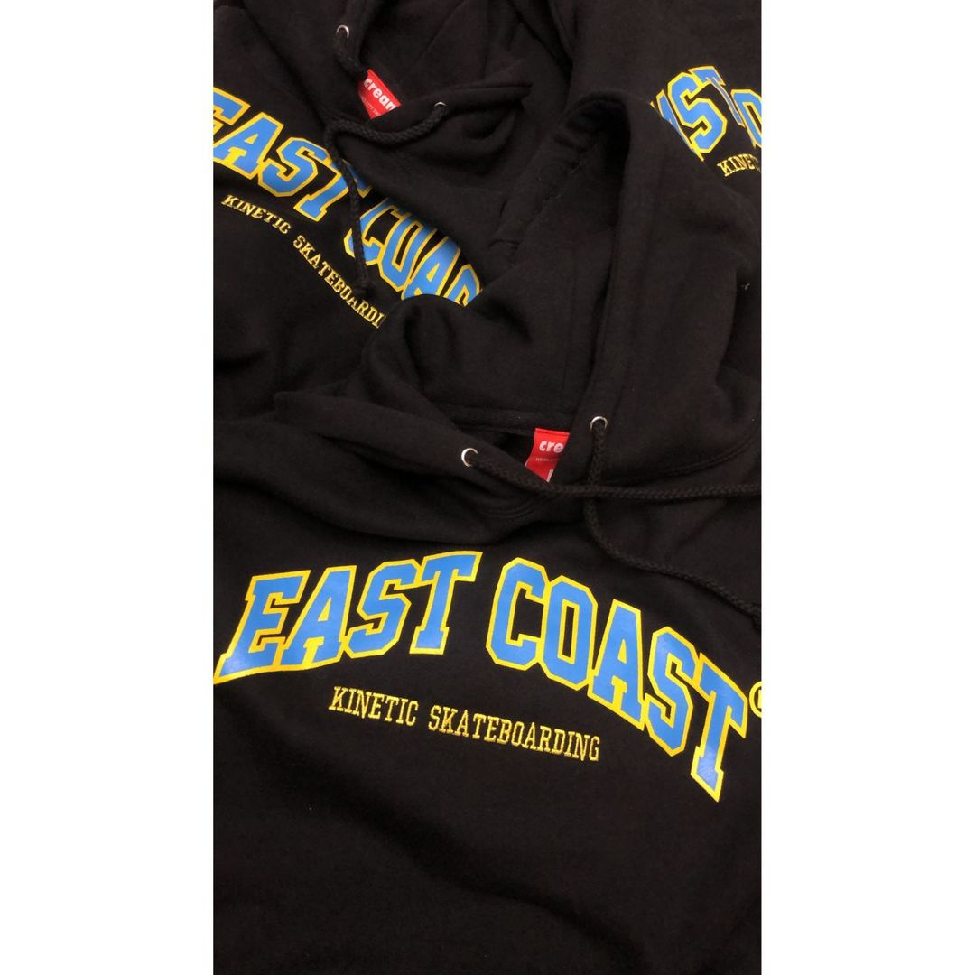 Cream x Kinetic East Coast Hoodie (Black)