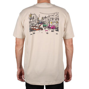 Traffic Wasteland Tee (Cream)