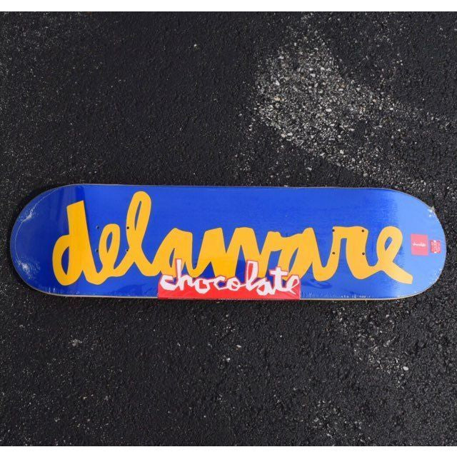 Chocolate x Kinetic Delaware Chunk The World Deck (8.25)