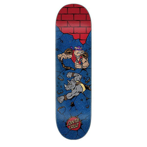 Santa Cruz x TMNT Bebop and Rocksteady Deck 8.125