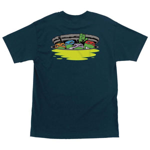 Santa Cruz x TMNT Ninja Turtles S/S Shirt (Harbor Blue)