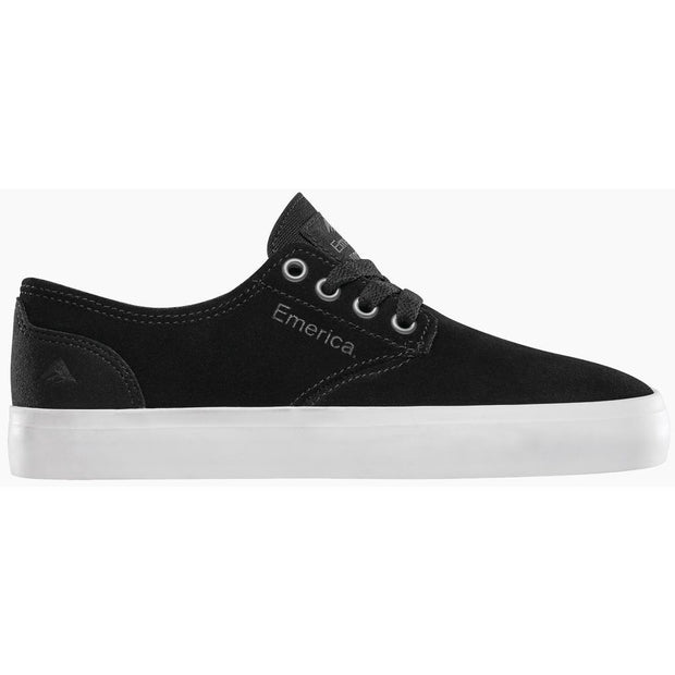 Emerica The Romero Laced Kids (Black/White/Gum)