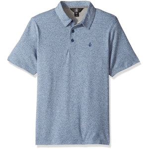 Volcom Wowzer Plus Polo (Blue Rinse)