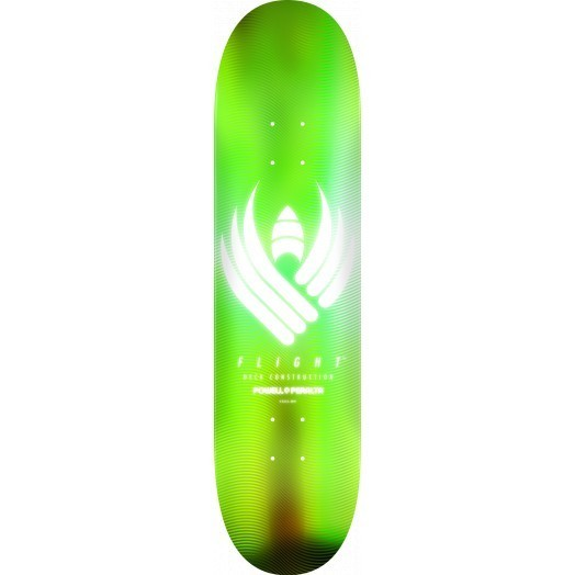 Powell Peralta Flight Deck Glow Lime Shape 249 (8.75)