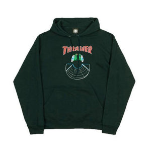 Thrasher Doubles Hood (Forest Green)