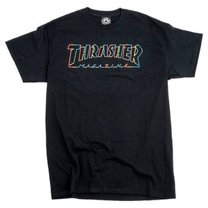 Thrasher Spectrum T-Shirt (Black)