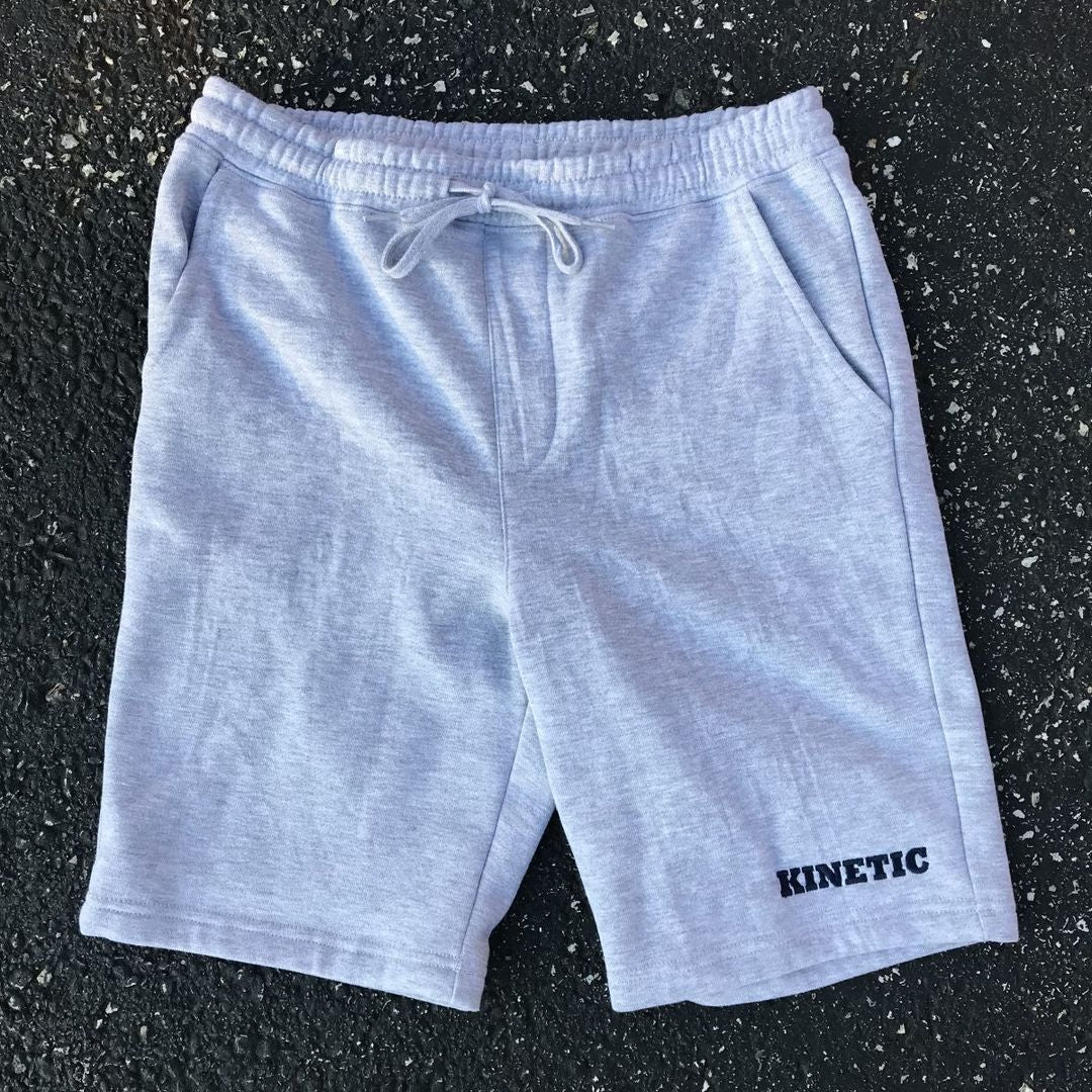 Kinetic Edge Sweatshorts (Heather Grey)