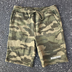 Kinetic Edge Sweatshorts (Camo)