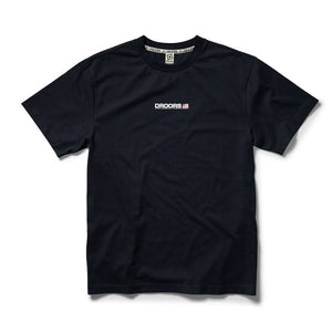 Droors Mountain S/S Tee (Black/Iris)