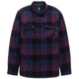 Vans Box Flannel (Prune/Dress Blu)