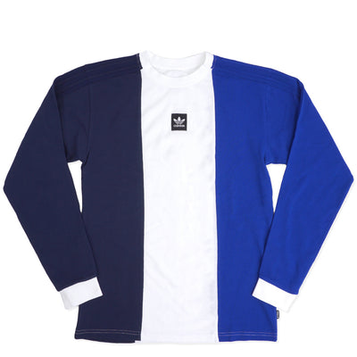 Adidas Tripart LS Tee (Navy/White/Royal)