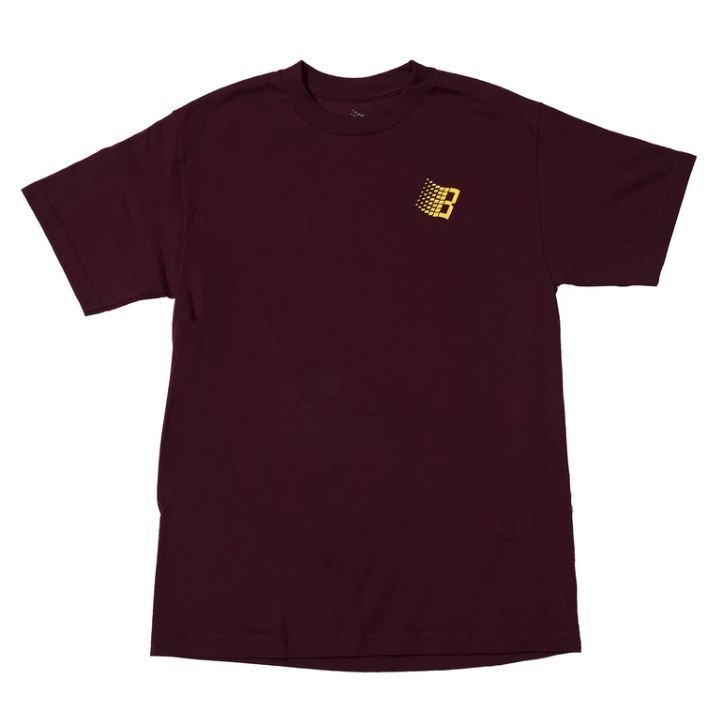 Bronze 56k International Tee (Burgundy)