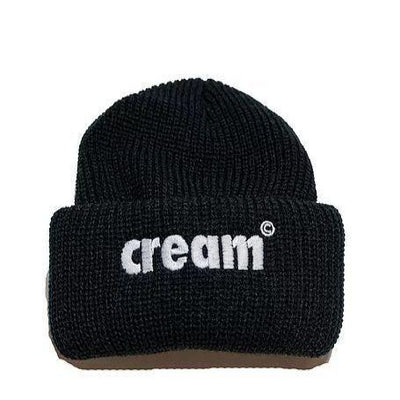 Cream OG Logo Beanie (Black)