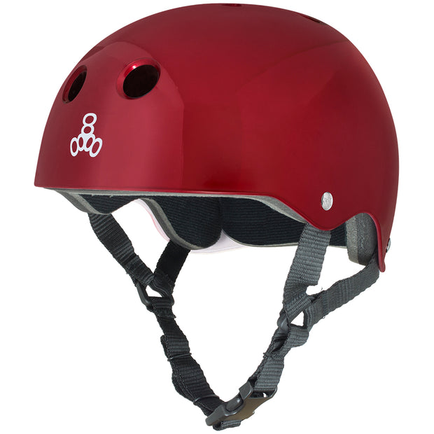 Triple 8 Brainsaver Helmet (Red)