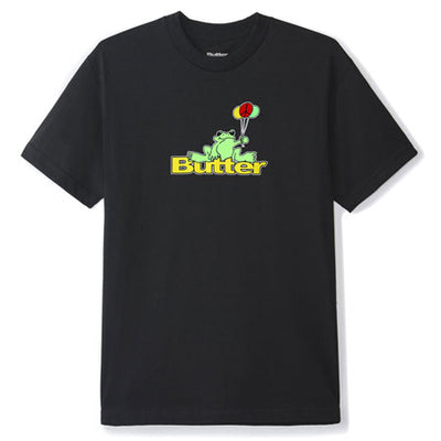 Butter Goods Frog Logo Tee (Black)