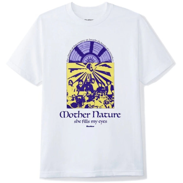 Butter Goods Mother Nature Tee (White)