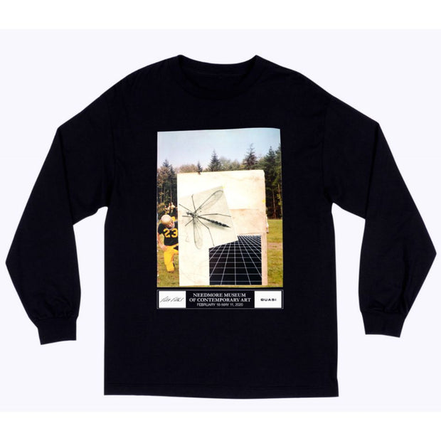Quasi Exhibition Long Sleeve Tee (Black)