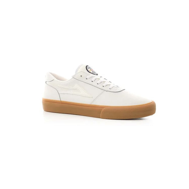 Lakai Manchester Griffin Gass (White Leather)