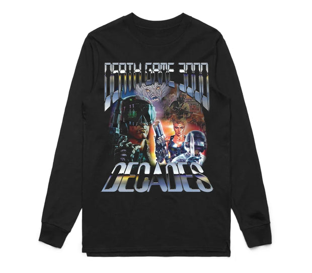 Decades Death Game L/S (Black)