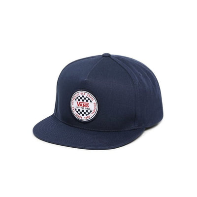 Vans OG Checkered Snap Back (Dress Blue)