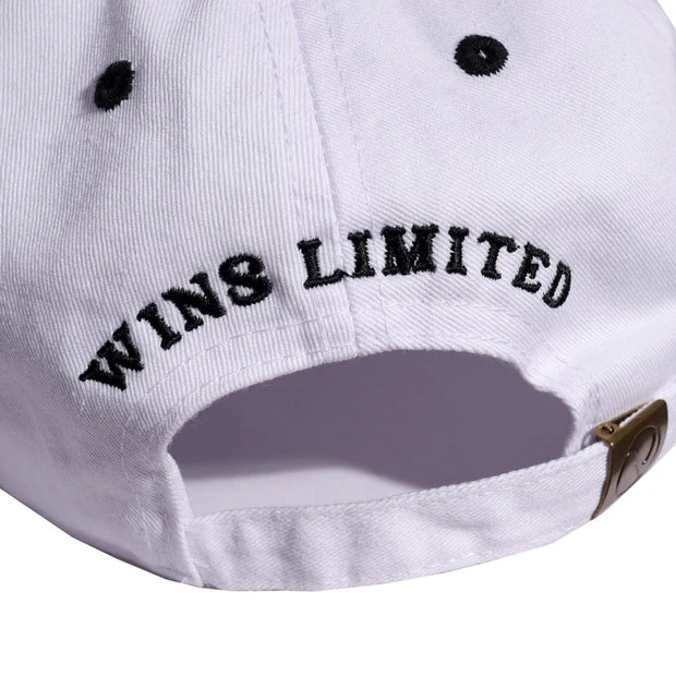 Wins University Strapback Cap (White)