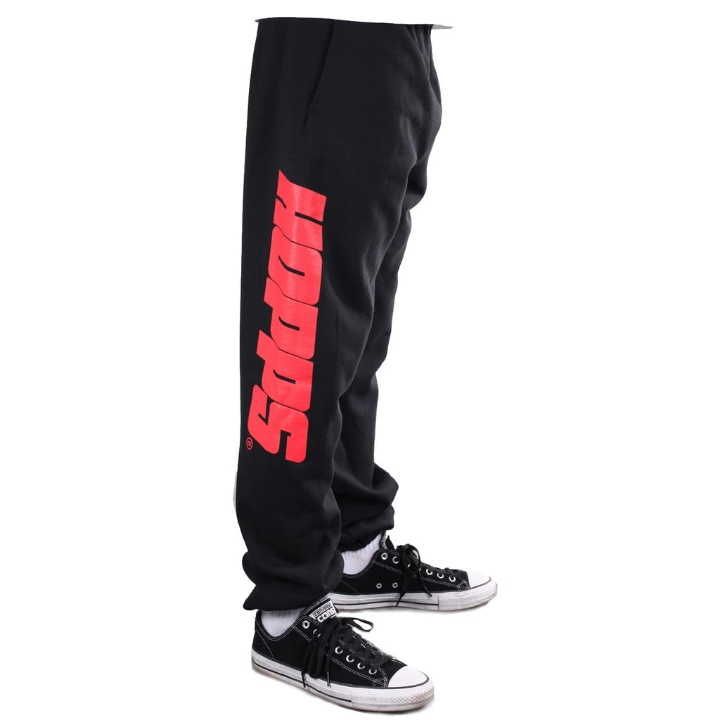 Hopps Big Logo Sweatpants (Black)