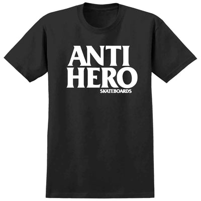 Anti Hero Black Hero Tee (Black/White)