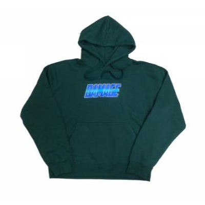 Damage Chrome Hoodie (Pine Green)