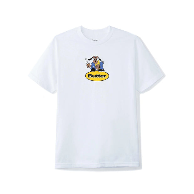 Butter Goods Homeboy Badge T-Shirt (White)