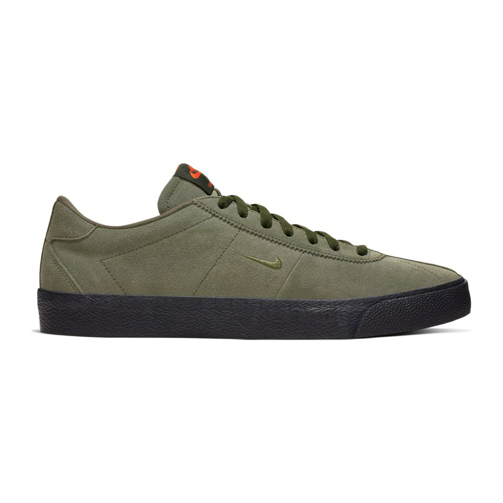 Nike SB Ishod Zoom Bruin ISO (Sequoia/Medium Olive/Safety Orange)