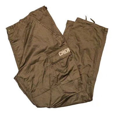 Cream Digital Cargo Pants (Olive/Tan)