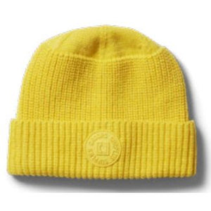 Droors Tonal Patch Beanie Yellow